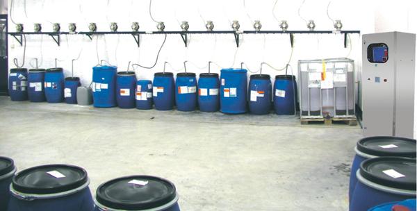 液体助剂自动计量输送系统