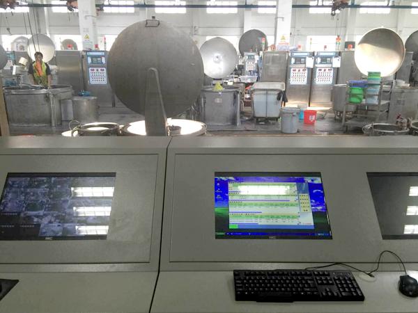染色机控制电脑集中控制系统服务案例-东莞联德毛纺有限公司