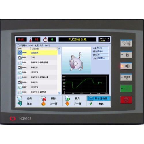 HG-9908触摸屏染色机控制电脑